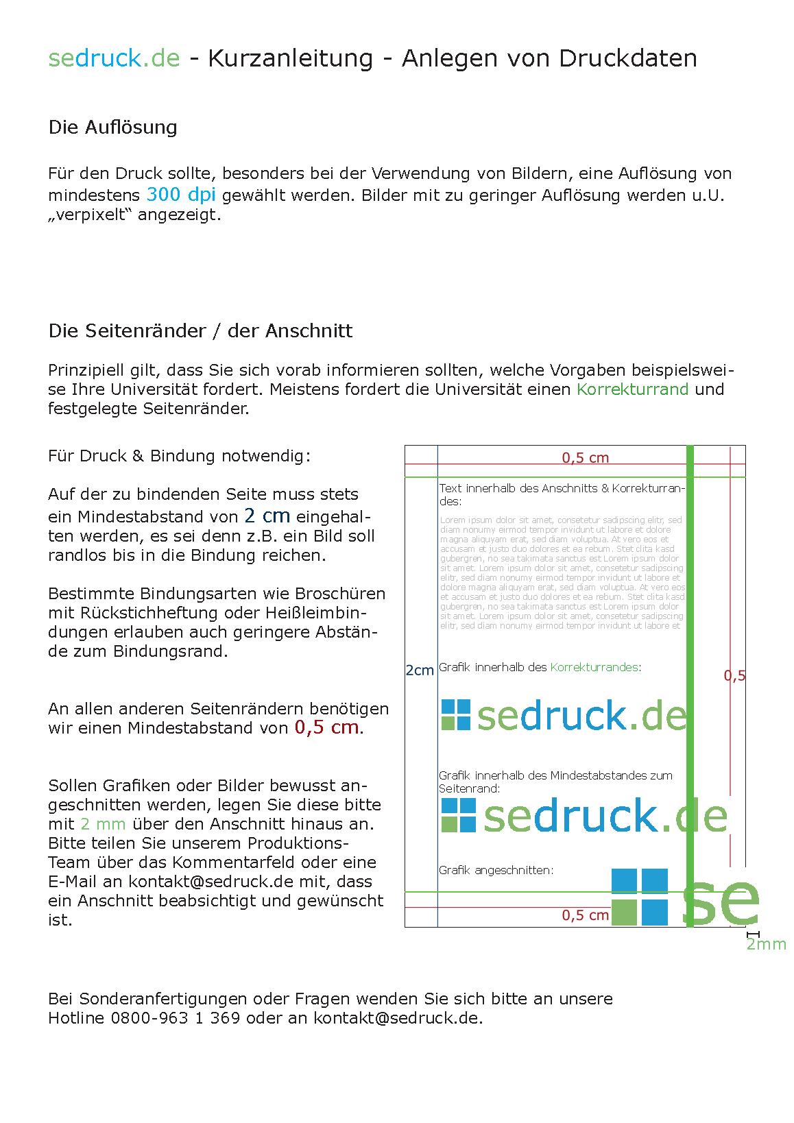 Anleitung: Bestellung & Versand im Online Copyshop