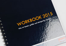 Hardcover-Ringbuch - Workbook