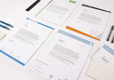 Sedruck stationery - templates