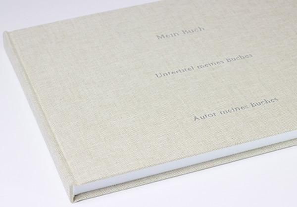 Handgefertigtes Buch als Hardcover mit Prägung | sedruck.de